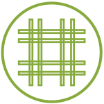 Bamboo Woven Fabric Icon