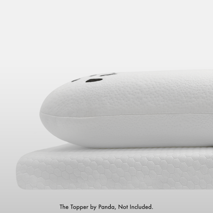 Panda Memory Foam Bamboo Pillow and Topper