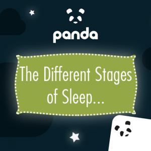 The different stages of sleep - Blog image for social media