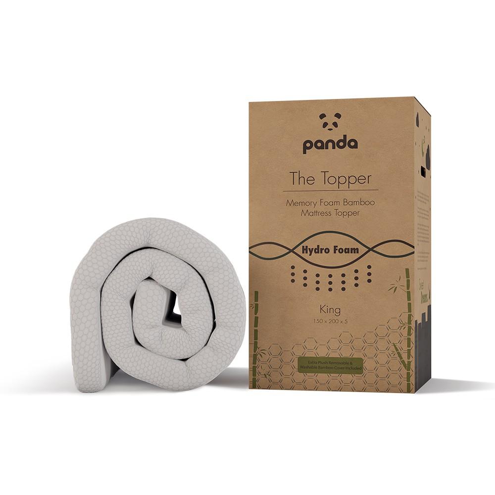 Panda Memory Foam Hydro-Foam Mattress Topper
